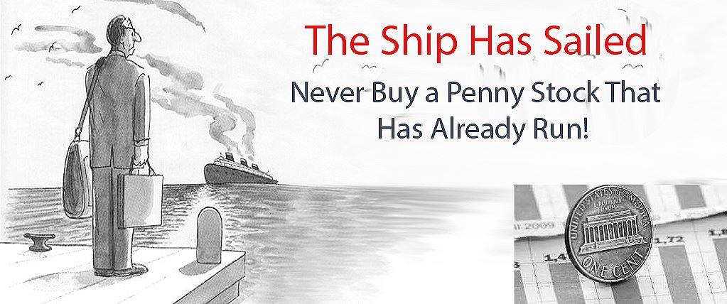 Never Buy an Already Running Penny Stocks - LearnedGold.Com
